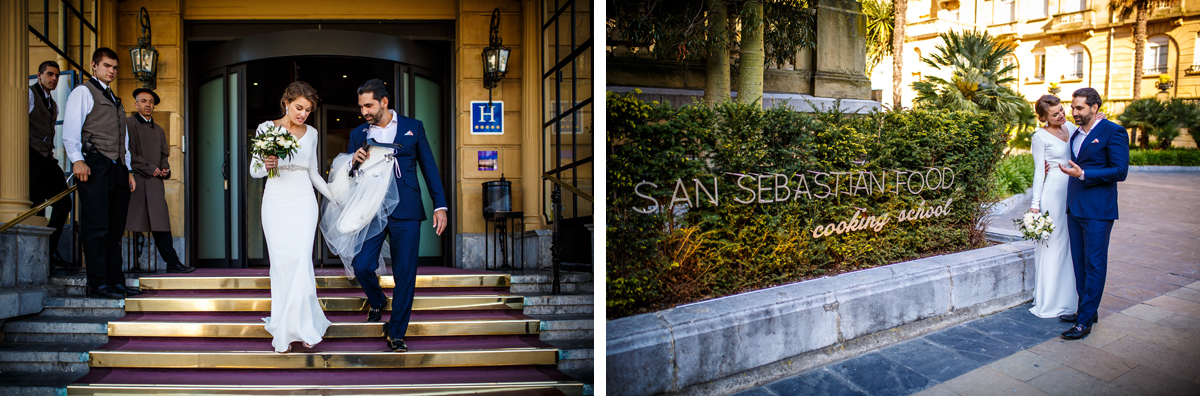 destination Wedding in san sebastian