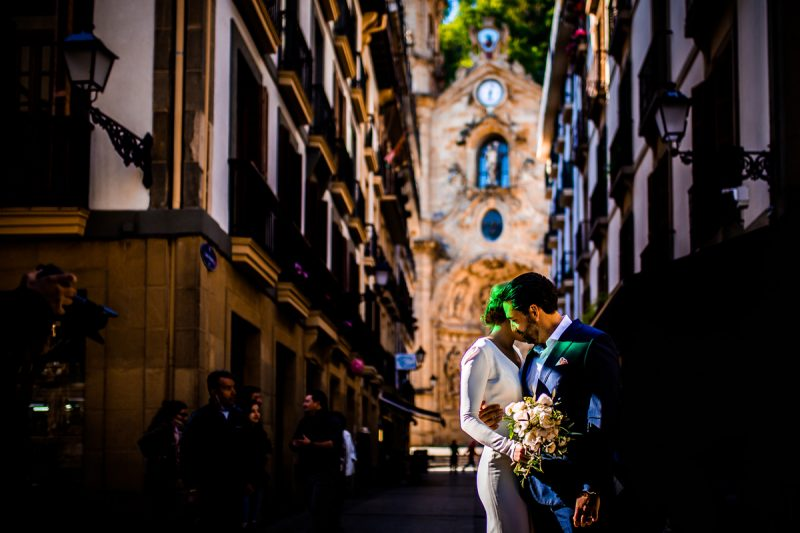 Destination Wedding en San Sebastián – Catie & Roger