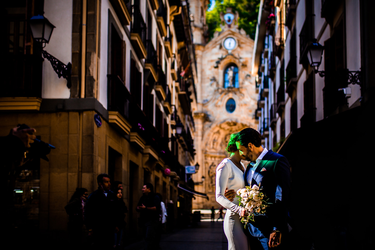 Wedding report in san sebastian