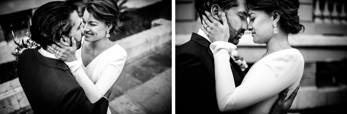 Emotions of a wedding day in san sebastian