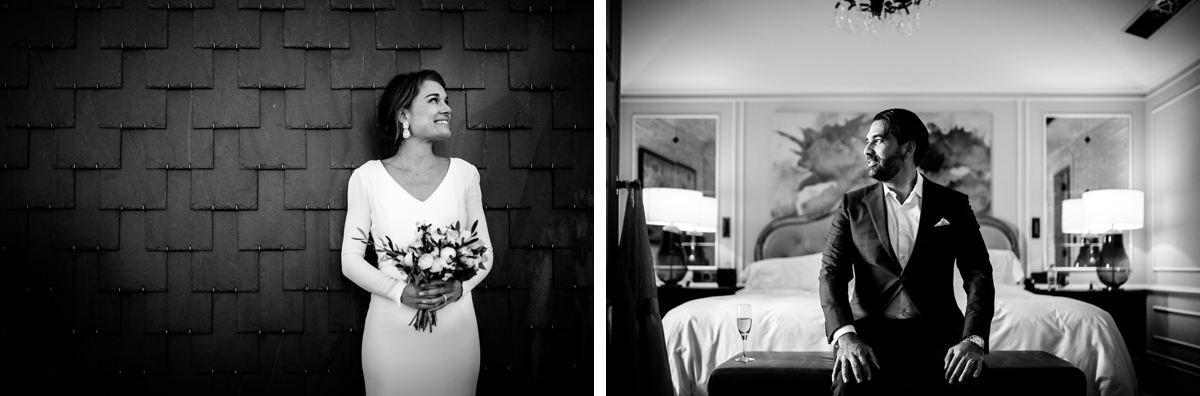 bride and groom portraits in hotel maria cristina